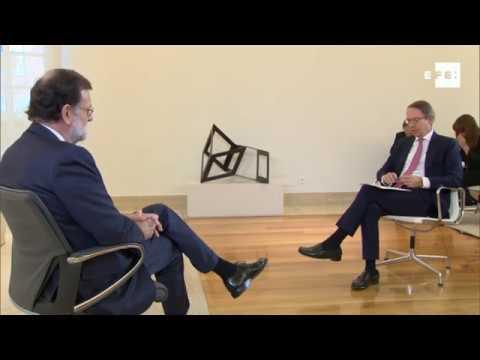 Entrevista completa de Efe a Mariano Rajoy