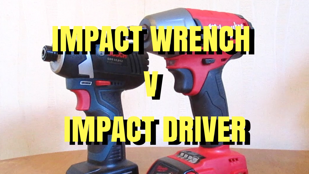 Impact Wrench Vs Driver Trydiy