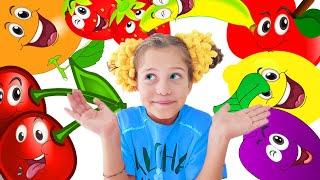Веселая детская песенка пр фрукты! Изучаем фрукты и формы вместе с Ба Би Бу!