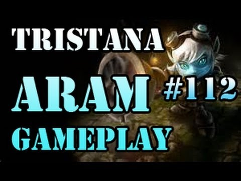 TRISTANA First Attempt [WIN] ARAM Gameplay #112 [HOWLING ABYSS] League of Legends LOL Champions