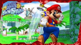 Super Mario Sunshine Walkthrough ᴴᴰ   Bianco Hills (All Shine Sprites)