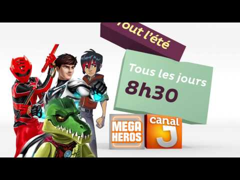 Canal J HD France - Continuity July 2015 [King Of TV Sat]