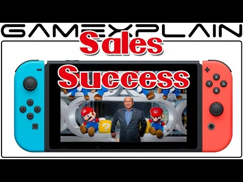 Nintendo's 2016 Fiscal Year Results Show Switch Success; Kimishima Promises More Unannounced Games