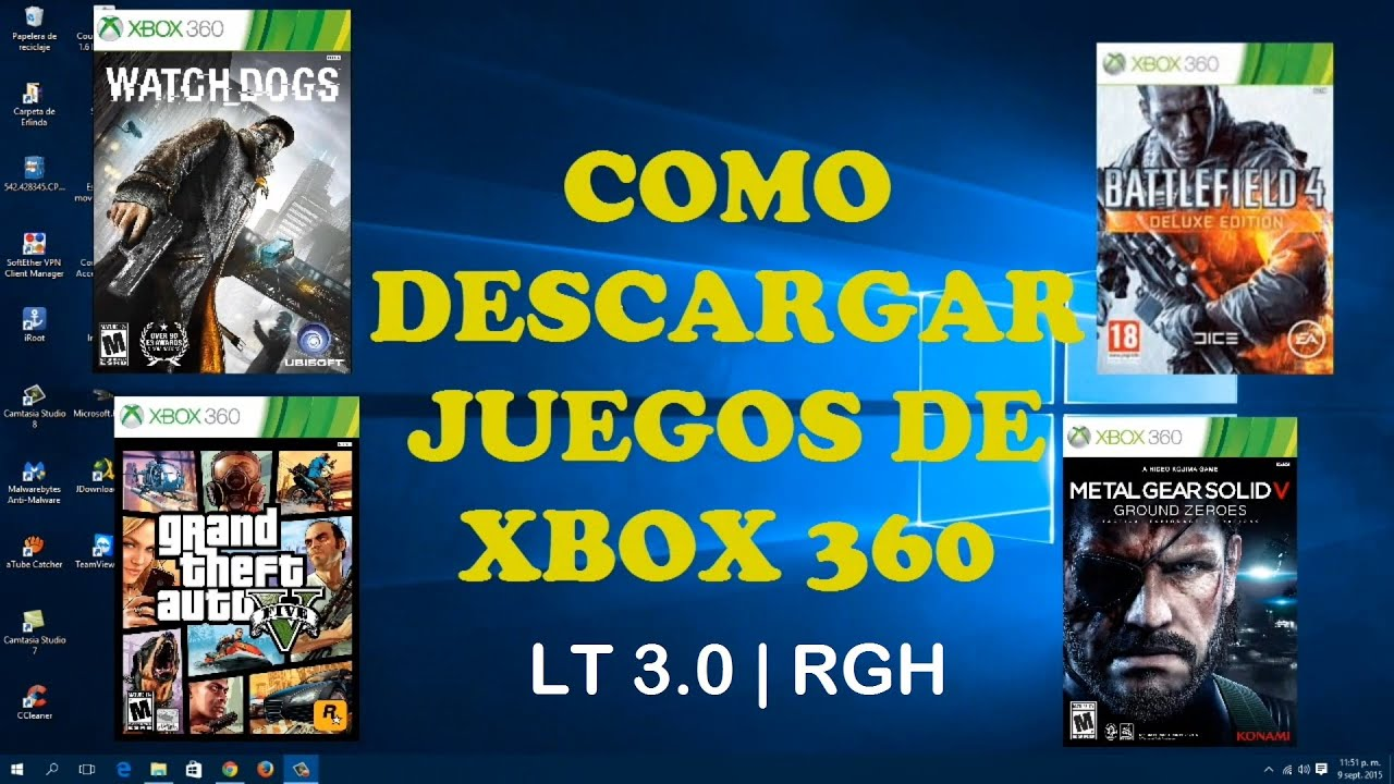 Como Descargar Juegos De Xbox 360 Para Lt 3 0 Rgh Mega 2015