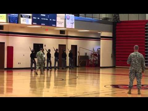 Riverside Military Academy Drill competition