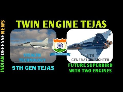 Latest indian defence news Need of a twin engine Tejas with stealth technology,5th gen fighter