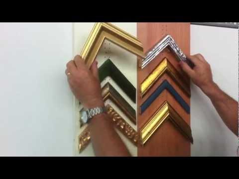 the system to display frame corner samples youtube. Black Bedroom Furniture Sets. Home Design Ideas