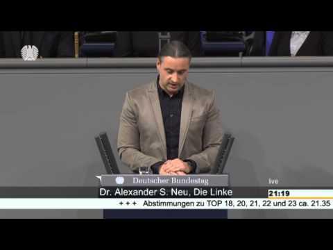 Alexander Neu, DIE LINKE: OPERATION ACTIVE ENDEAVOUR ist überflüssig!