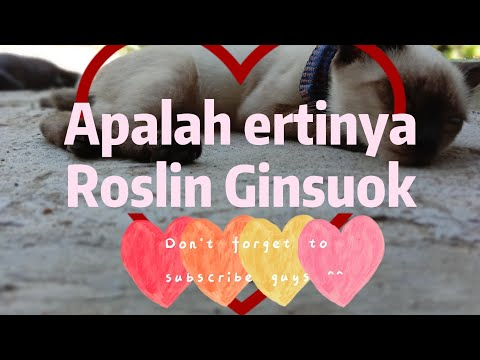 Roslin Ginsuok - Persahabatan(dangdut)