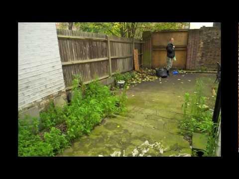 New Cross Garden Transformation Youtube