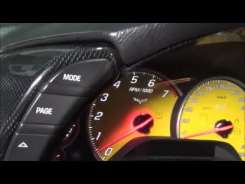 C6 Corvette Carbon Fiber Cluster Install