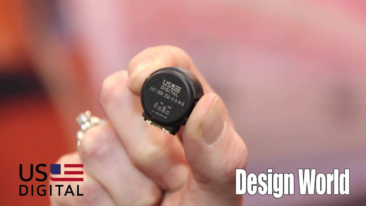 US Digital explains where the E4T optical encoder works