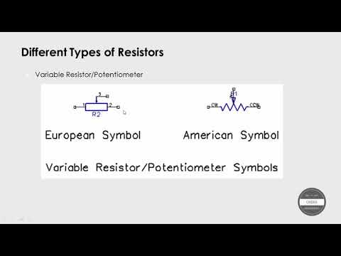Lecture 41 Variable Resistors Theory Youtube