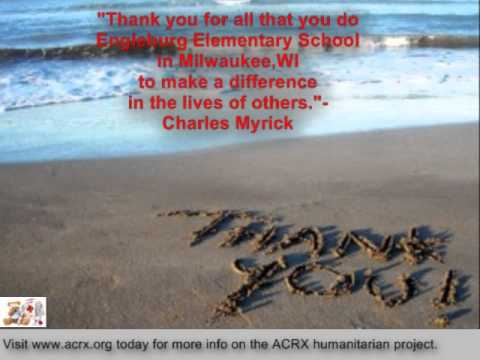 Engleburg Elementary School Receive Tribute & Discount Cards By Charles Myrick of ACRX