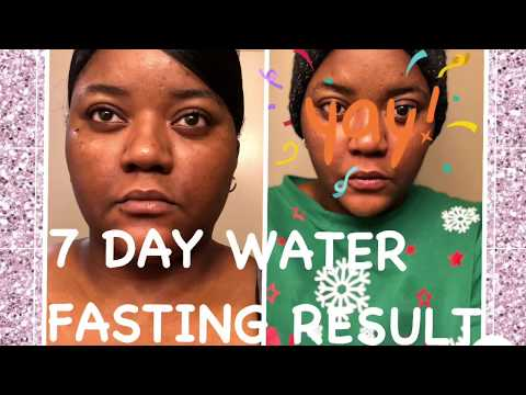 I WATER FAST FOR 7 DAYS | AMAZING RESULT
