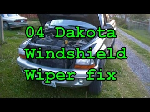 04 Dakota Part 1 Wiper Problems