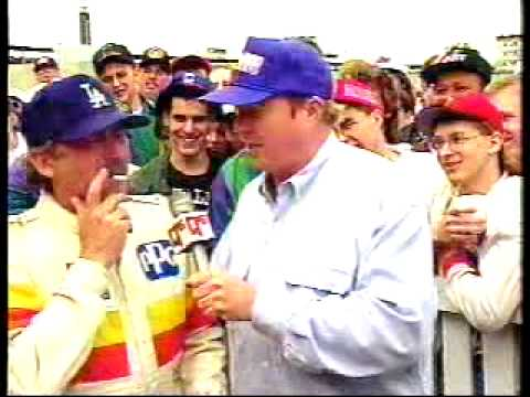 Bob and Tom at the Track - 1993
