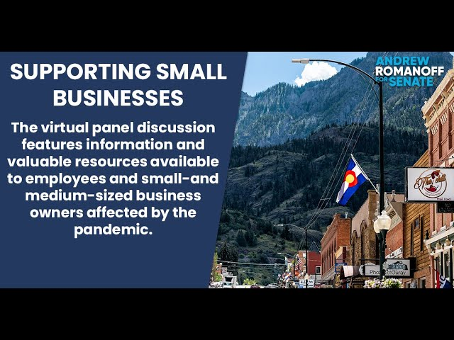 Supporting Small Businesses: A Pandemic Panel Discussion