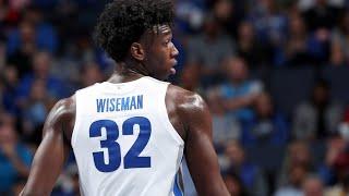 James Wiseman Memphis Full Freshmen Season Highlights Montage 2019- 20 -19.3 PPG, 10 7 RPG, 3.0 BLKs