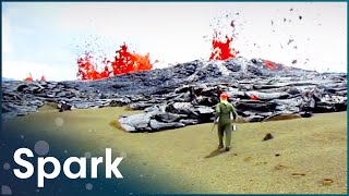 The World's Largest Volcano | Lava Land | Spark
