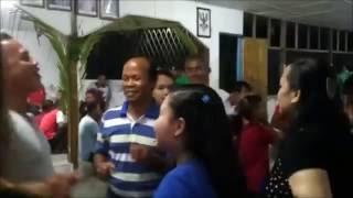 Ezra Randip - jalan kehidupan (lagu bidayuh) background video gawai at kpg tema mawang 2014