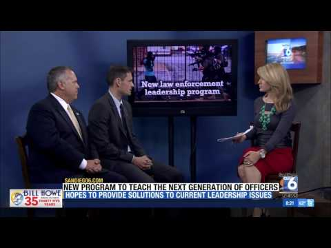 100% Online Master's in Law Enforcement and Public Safety Leadership Featured on Channel 6 News