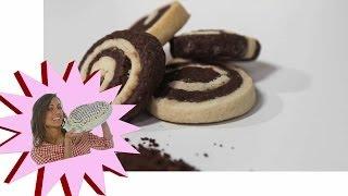 Biscotti Marmorizzati Senza Uova - Le Ricette di Alice