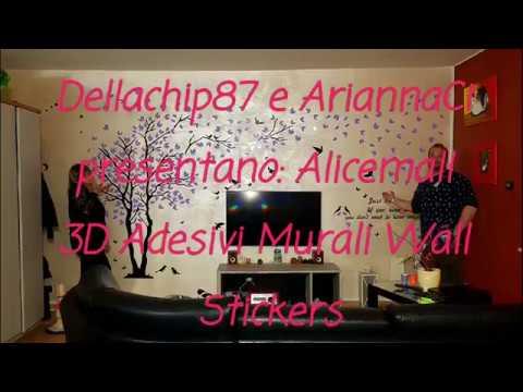 Adesivi Murali Low Cost.Albero Gigante Adesivo X Salotto Alicemall 3d Adesivi Murali Wall Sticker