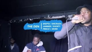 BBK Grime Set: Skepta, Frisco, Jammer Shutdown The Den [@Skepta @BigFris @JammerBBK] | BRMG