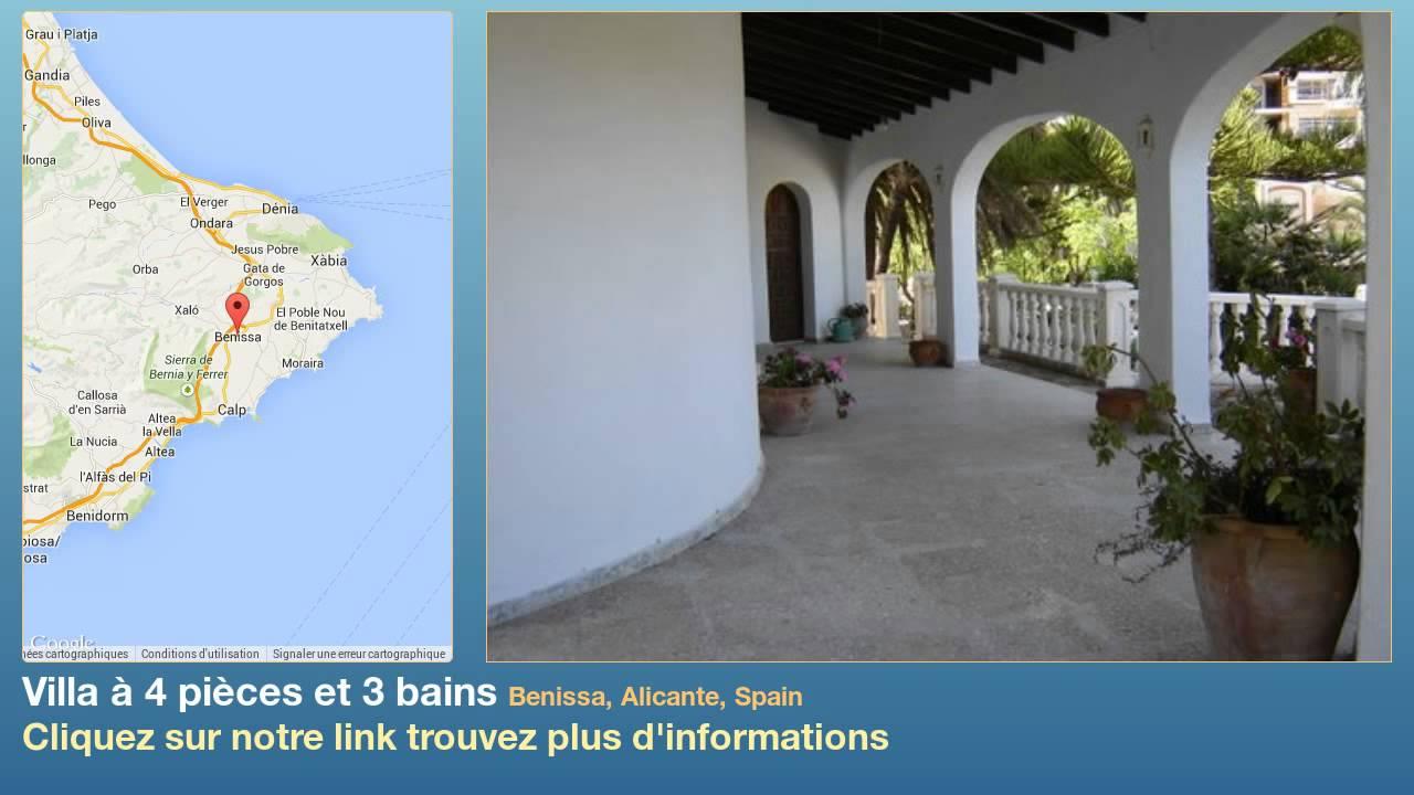 4 slaapkamers 2 badkamers Villa te Koop in Rafol De Almunia ...