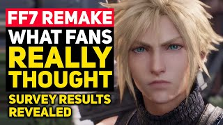 What Did Fans REALLY Think of Final Fantasy 7 Remake