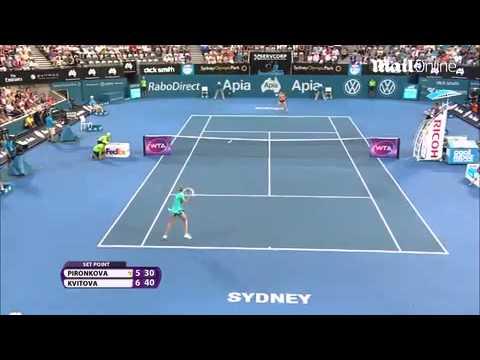 Petra Kvitova defeats Tsvetana Pironkova...