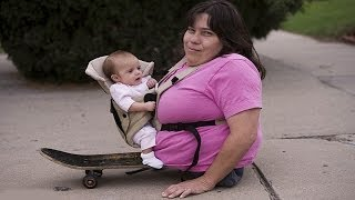 Woman Who Has Half A Body Has A Baby - World