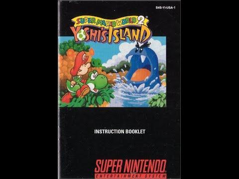 super mario world 2 yoshi s island game manual snes instruction rh youtube com game manuals pdf game manuals pdf