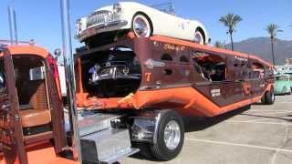 Dunkel Bros. 1949 GMC and 1947 MHS Car Hauler First WalkAround At TFK 2013