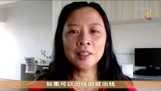 【冠状病毒19】本地居民为入住社区内健康客工 提供物资和精神支援