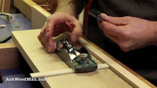 How To Install Block Plane Blade • Complete Sharpening Series Video 37