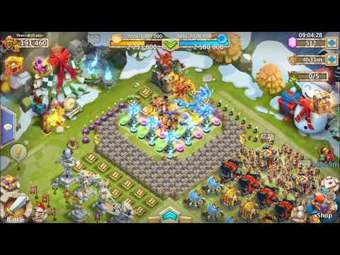 Castle Clash TH11 HBM Base