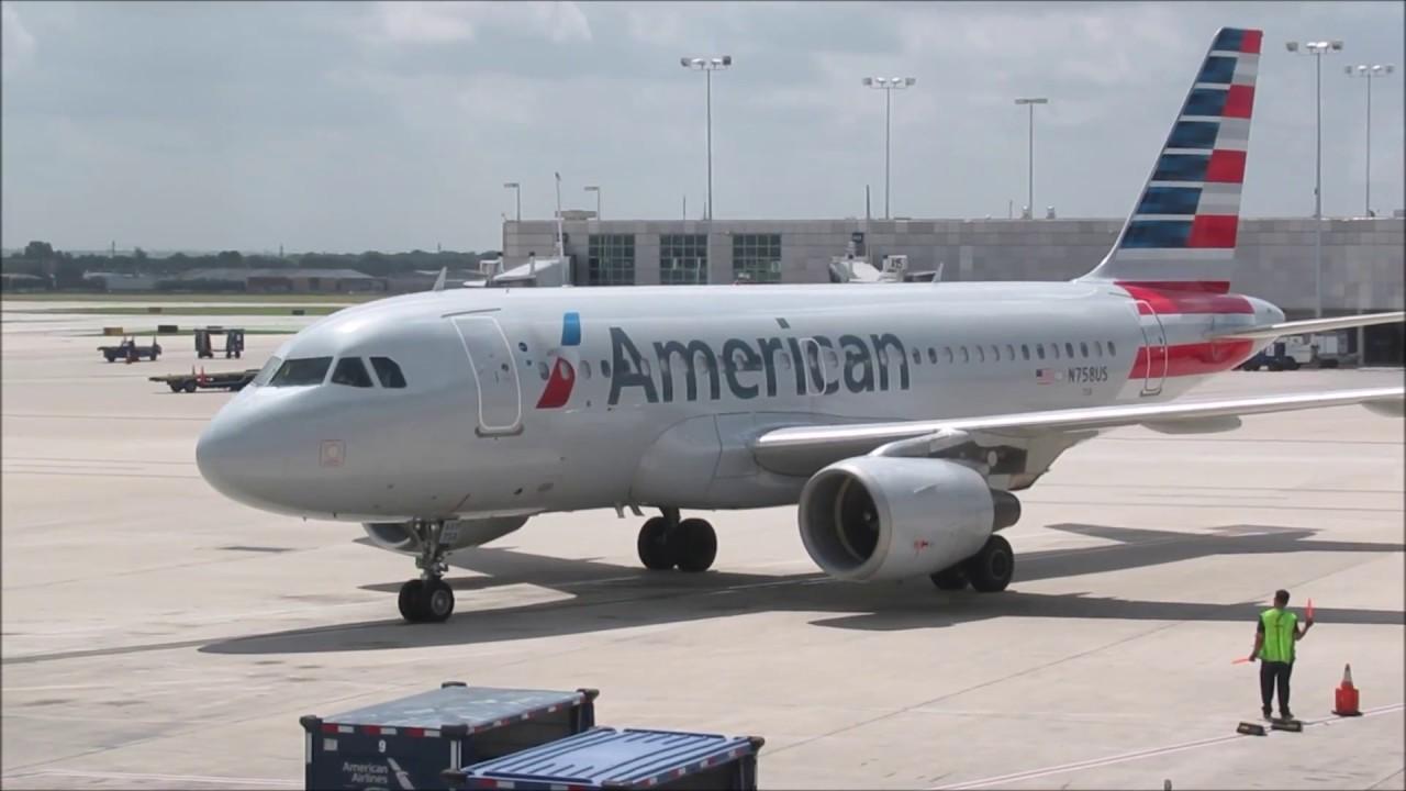 Full Flight American A319 San Antonio To Dallas Youtube