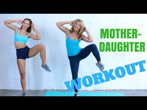 Katie & Denise Austin's MOTHER DAUGHTER WORKOUT