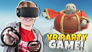 VIRTUAL REALITY PARTY GAME! | Loco Dojo VR (Oculus Touch Gameplay)