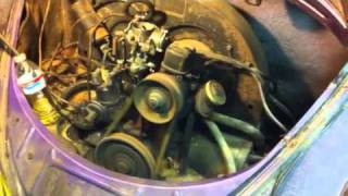 1960 VW Engine Starts After 35 Years