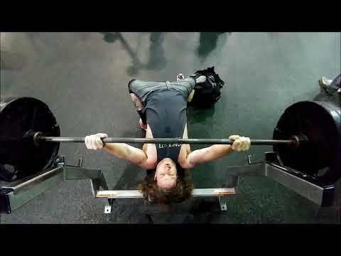 New Bench Press Personal Record!