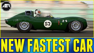 Forza 6 : NEW FASTEST CAR IN THE GAME!!! (Jaguar D-Type Top Speed Build)