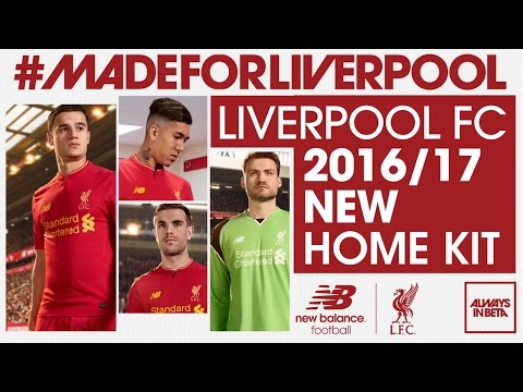 aa675af6688 Liverpool FC players model new home kit   LiverpoolFC