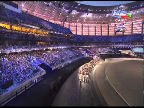 Baki 2015 Avropa oyunlarinin Acilisi - Baku 2015 open Euro Games 1