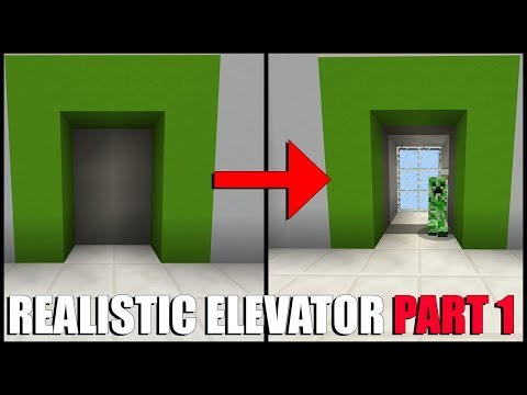 How To Make a MULTI Floor Elevator in Minecraft Part 1 (Command Block)