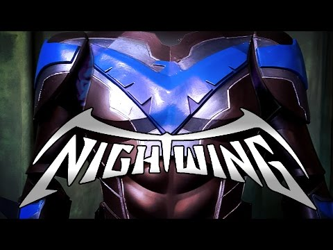 Nightwing 2.0 Cosplay costume tutorial