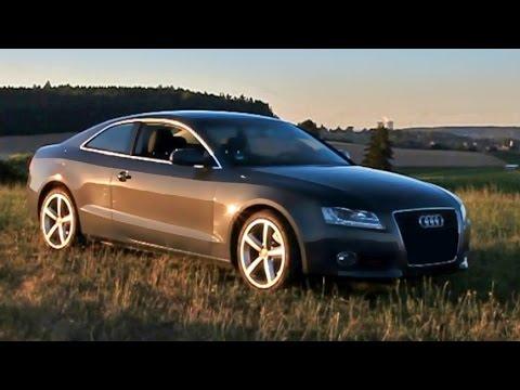 Audi A5 Coupe First Day, Test Drive Probefahrt und Audi A3. Audi S5 Audi RS5 Audi B8