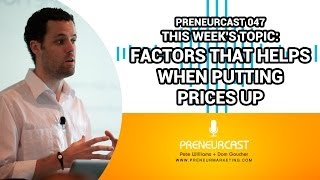 Pricing Strategies For Small Business [Preneurcast047]